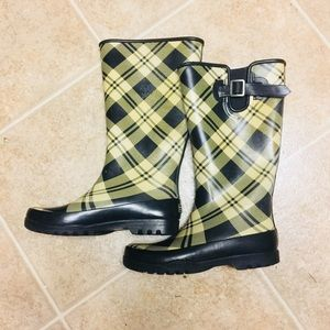 Sperry-Top Sider Waterproof Rubber Rain Boots. 7